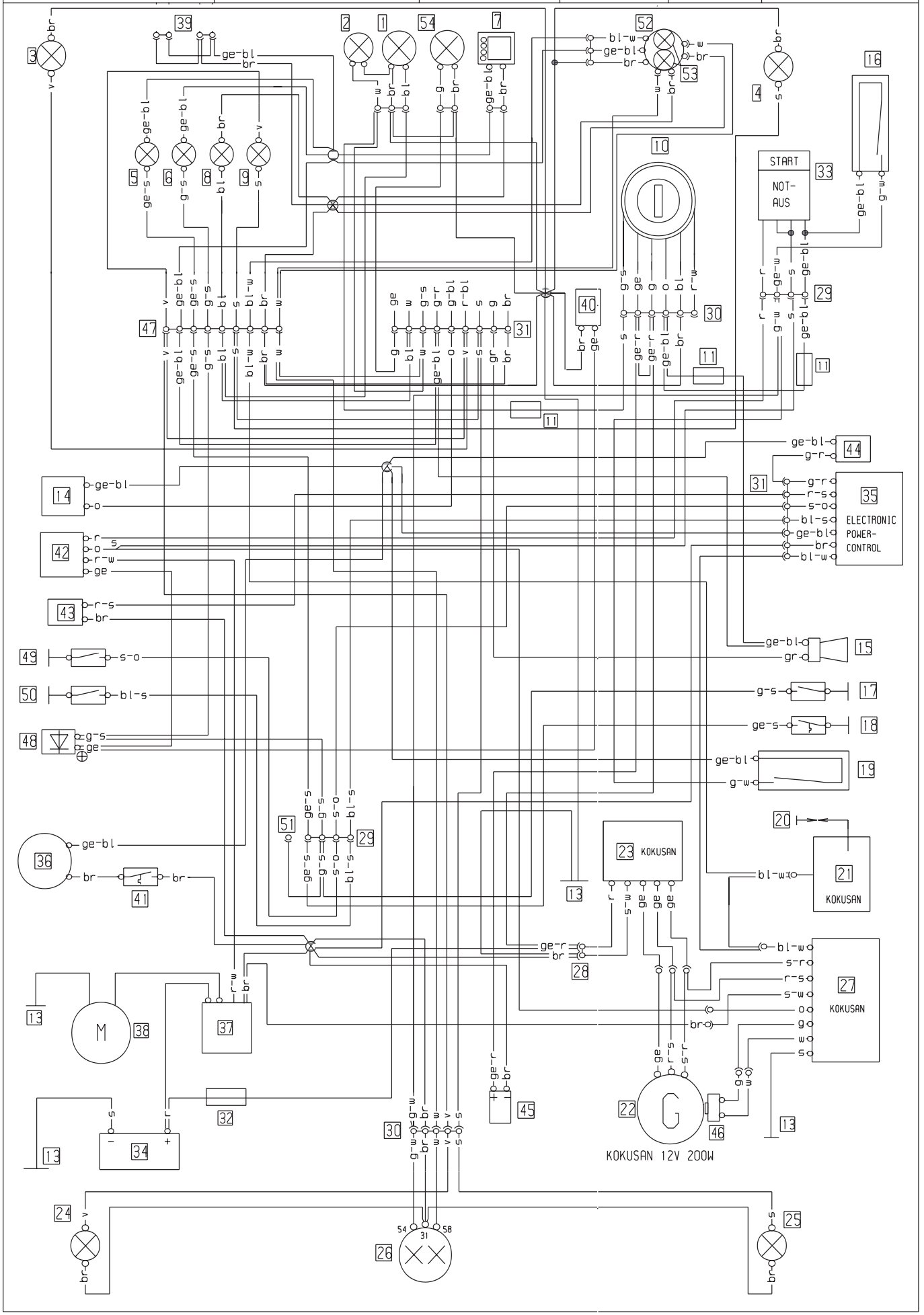 ktm wiring diagrams ktm wiring diagrams online